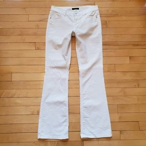 White House Black Market Blanc White Stretch Jeans